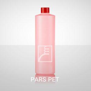 بطری شامپو 500 میلی لیتری با درب ساده