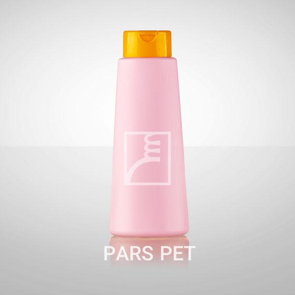بطری شامپو 750 گرمی با درب رنگی و ترسپرنت
