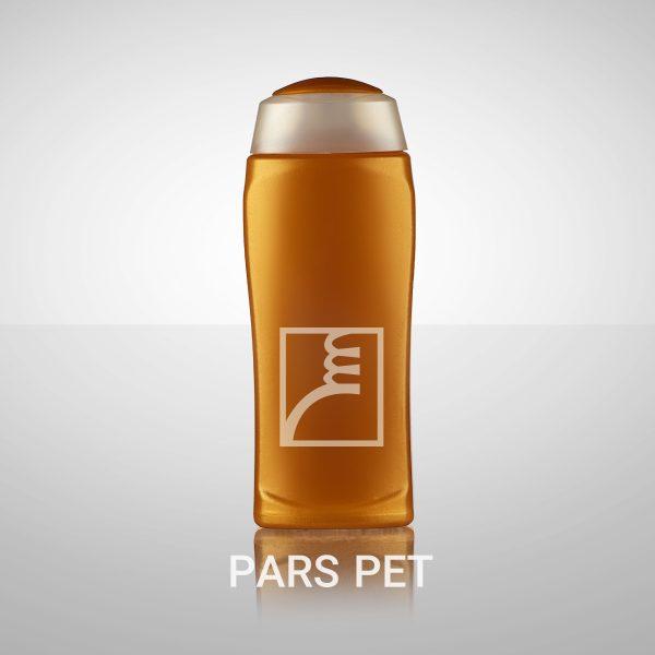 بطری شامپو 300 میا طرح صحت با درب فلیپ تاپ رنگی