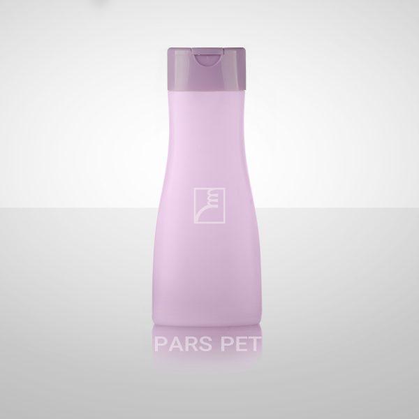 بطری شامپو 400 میلی لیتری با درب استند رنگی