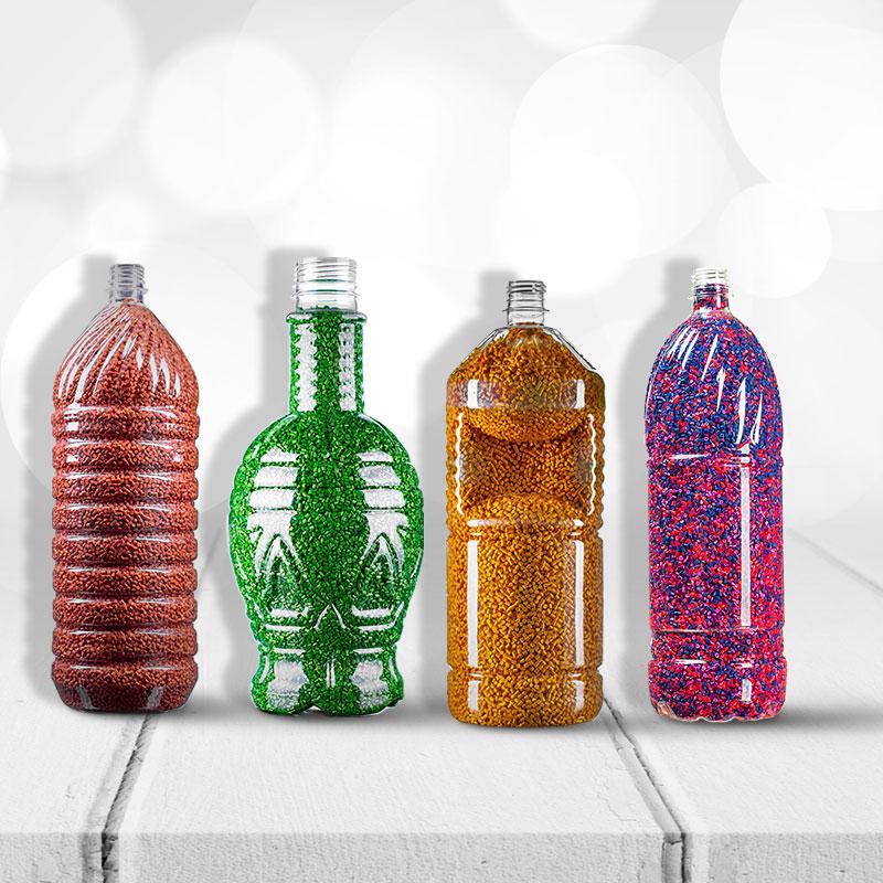 بطری های ۲ لیتر تا ۳ لیتر